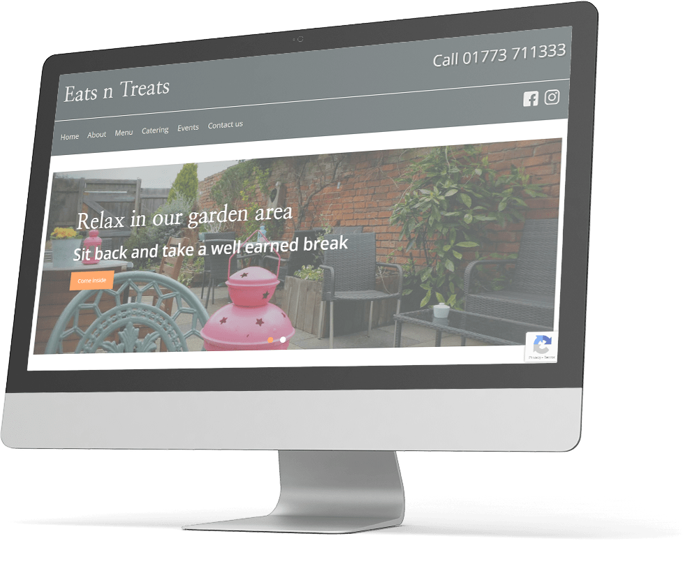 Eats n Treats - Keeping the website running so that they can focus on their business